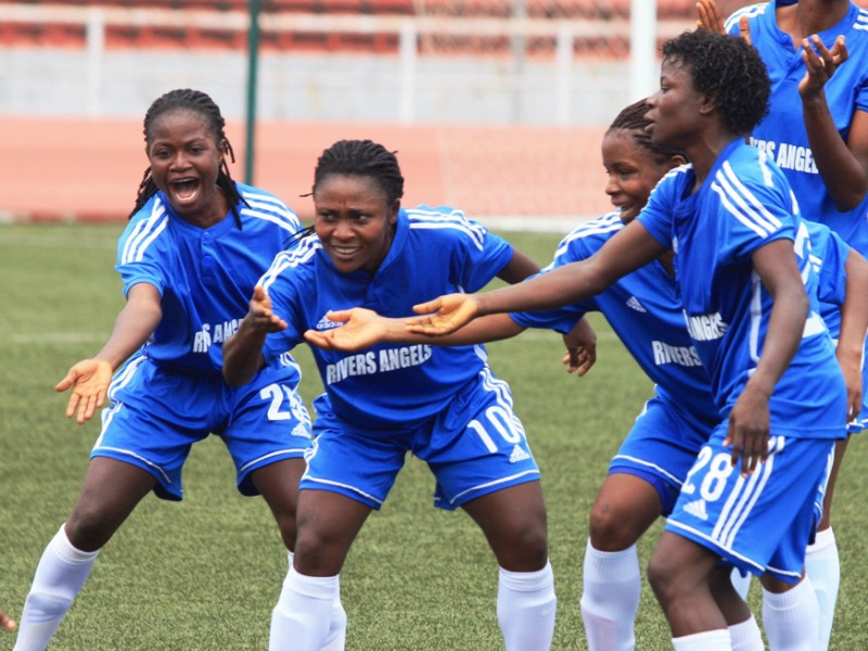 Rivers Angels (Photo Credit: Score Nigeria)