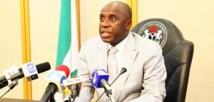 Former Minister of Transportation, Rotimi Amaechi. [PHOTO CREDIT: Official twitter page of Rotimi Amaechi]