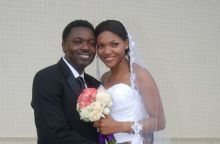 Anita Iseghohi and husband