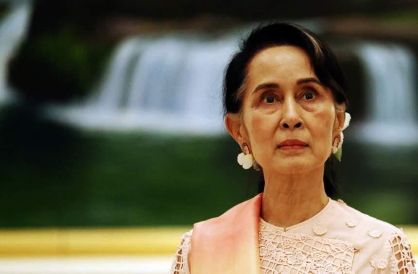 Aung San Suu Kyi. [PHOTO CREDIT: SBS]