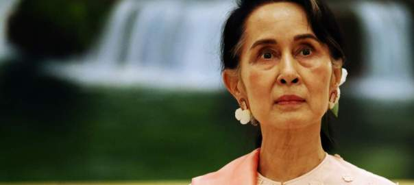 Aung San Suu Kyi. [PHOTO CREDIT: SBS]