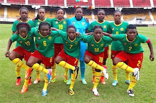 Cameroon women team