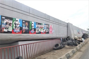Campaign posters used to illustrate the story. [PHOTO CREDIT: Nairaland Forum]