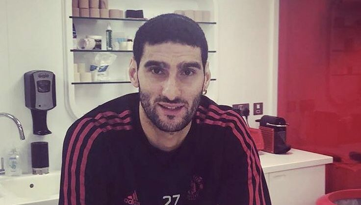 Manchester United star, Fellaini, shocks fans with new look