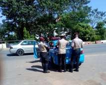 FRSC officials on duty