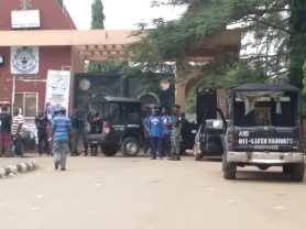 Federal Polytechnic Oko exam records building gutted by fire