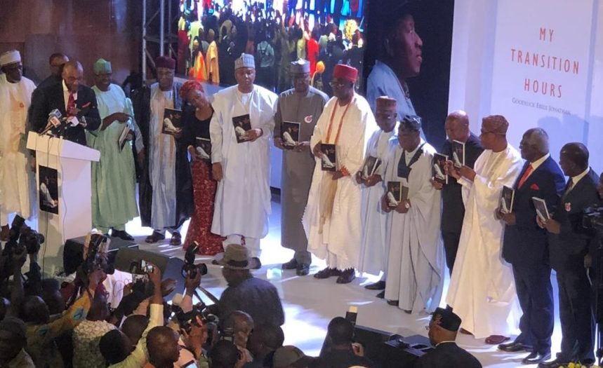 Dignitaries at Former President, Goodluck Jonathan Book Launch