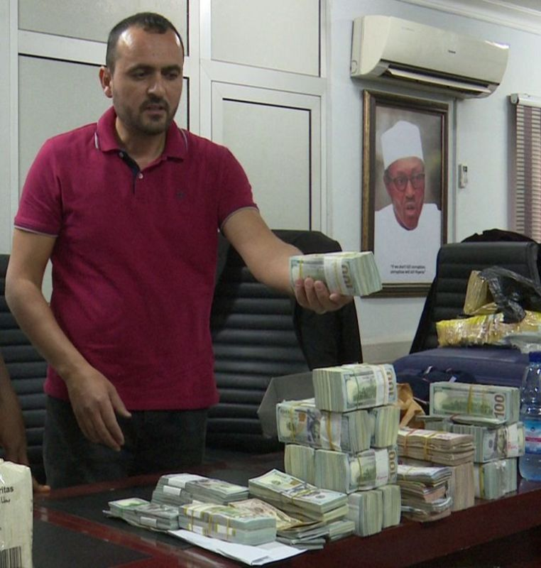 Image result for EFCC Arrests Lebanese With Over $2m At Abuja Airport.