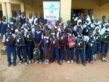 The first phase of the event which held at the Durumi junior secondary school has 38 beneficiaries from the IDP camps and the less privileged in the community, located at games village Apo area one axis. The beneficiaries include 28 children from IDPs and 10 outside the IDP camps, 14 in JSS1, 18 in JSS2, and 6 in JSS3, the student received a full package which includes school bag, textbooks, scandal socks and other basic material. The foundation paid the school fees of the 38 beneficiaries.
