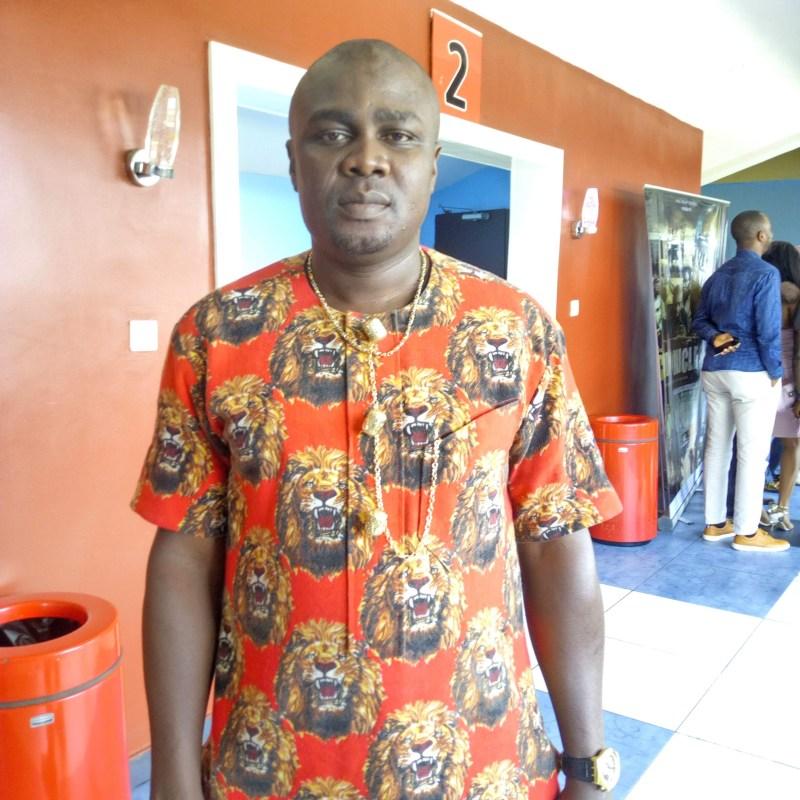 Nigerian film-maker, Frank Ufomadu