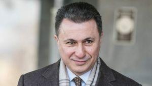 Former Macedonian Prime Minister, Nikola Gruevski