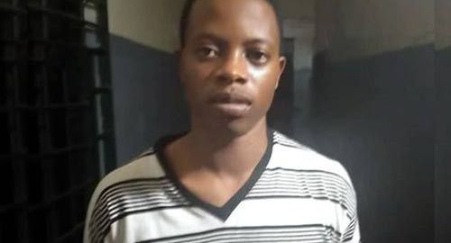 Sunday Anani, Togolese who allegedly murdered his Nigerian employer, Ope Bademosi