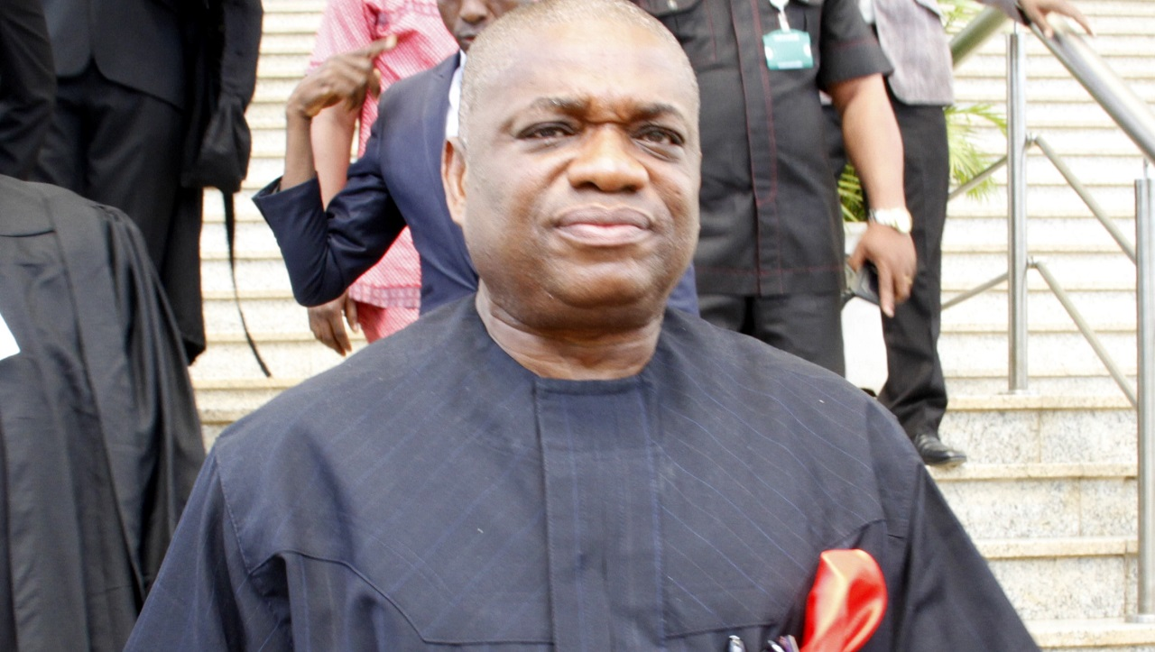 Wanted Orji Kalu seen at APC rally in Umuahia