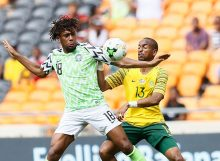 Africa Cup of Nations match between South AFrica and Nigeria's Super Eagles.
