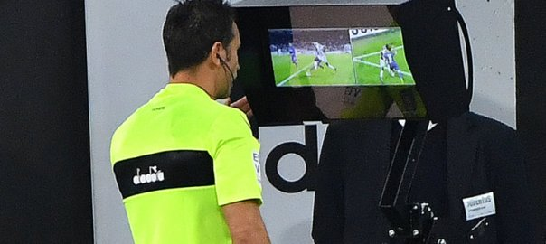 Video Assistant Referees (VAR). [PHOTO CREDIT: Sky Sports]