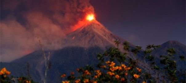 Volcanic eruption in Guatemala (Photo Credit: BBC)