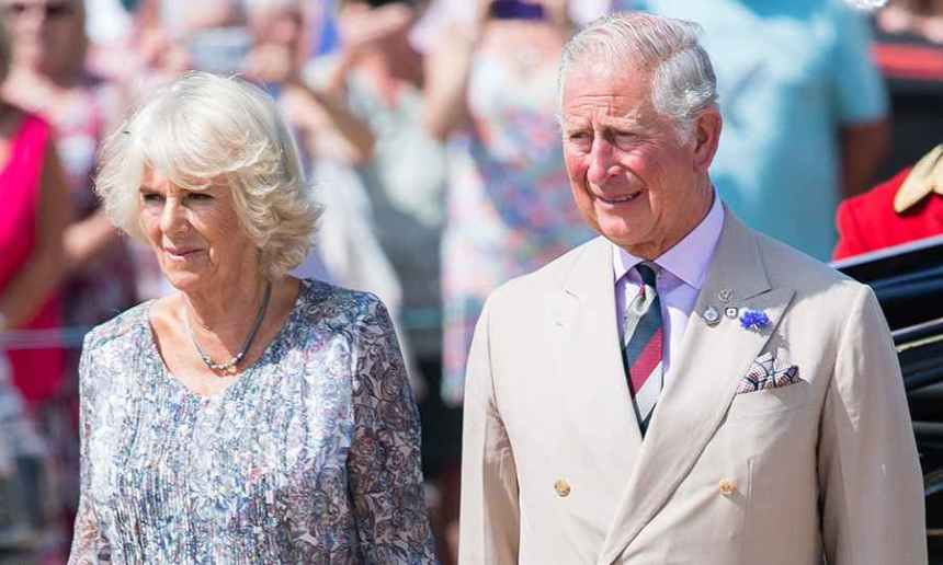Prince Charles and his wife, Princess Camilla, the Duchess of Cornwal
