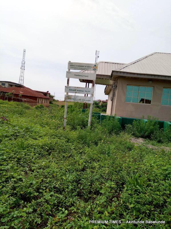 The skills acquisition centre in Ilogbo-Ekiti