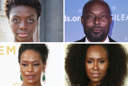 A cross section of the Hollywood stars starring in Rise