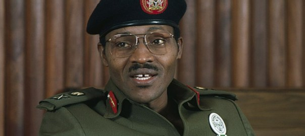 Buhari as military president