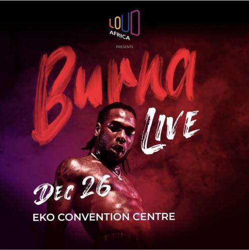 Burna Boy Live