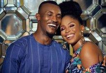 Gideon Okeke and Chidera (Photo Credit: Kemi Filani News)