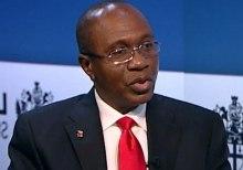 Godwin Emefiele, Governor of Central Bank of Nigeria (CBN)