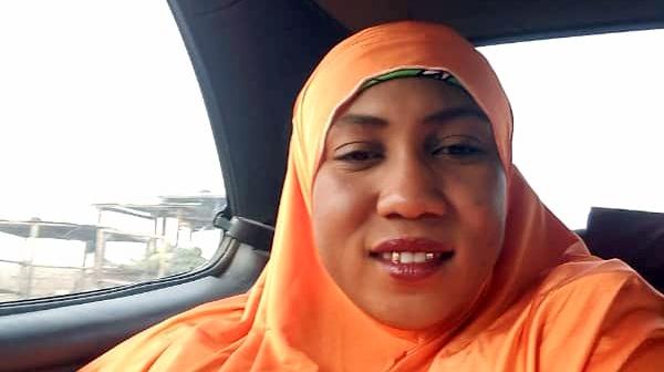 Sumayya's mother, Hadiza Abubakar.