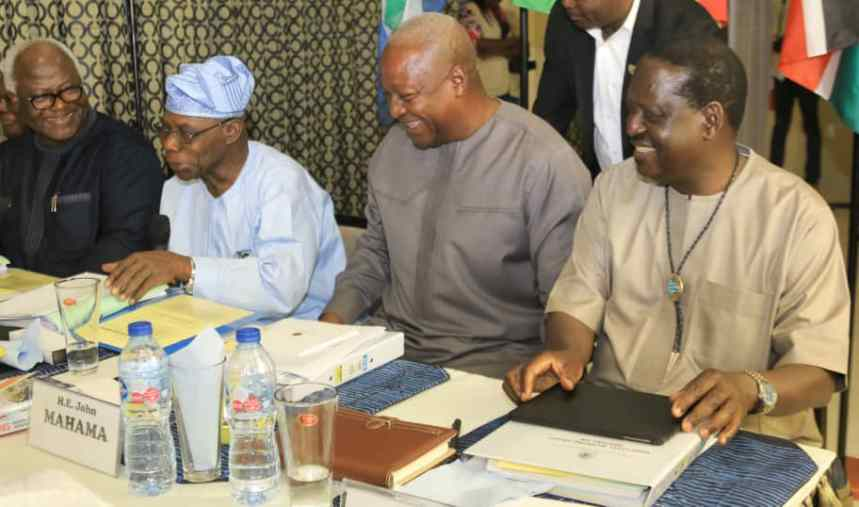 Three ex-African leaders join Obasanjo, Jega, others to discuss use of ICT in elections