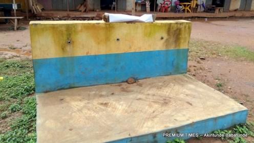 Tap stand in Ifewara