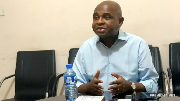 A former deputy governor of the Central Bank of Nigeria, Kingsley Moghalu