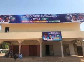 Buhari/Osinbajo campaign posters