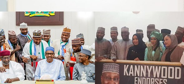Kannywood Buhari and Atiku