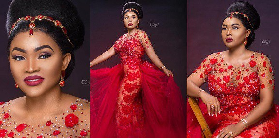 Mercy Aigbe's controversial red dress (1)