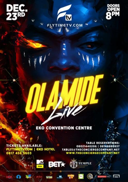 Olamide Live