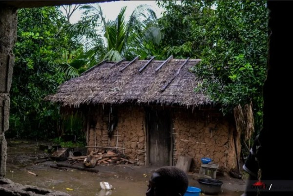 One of the houses in Kekere Community