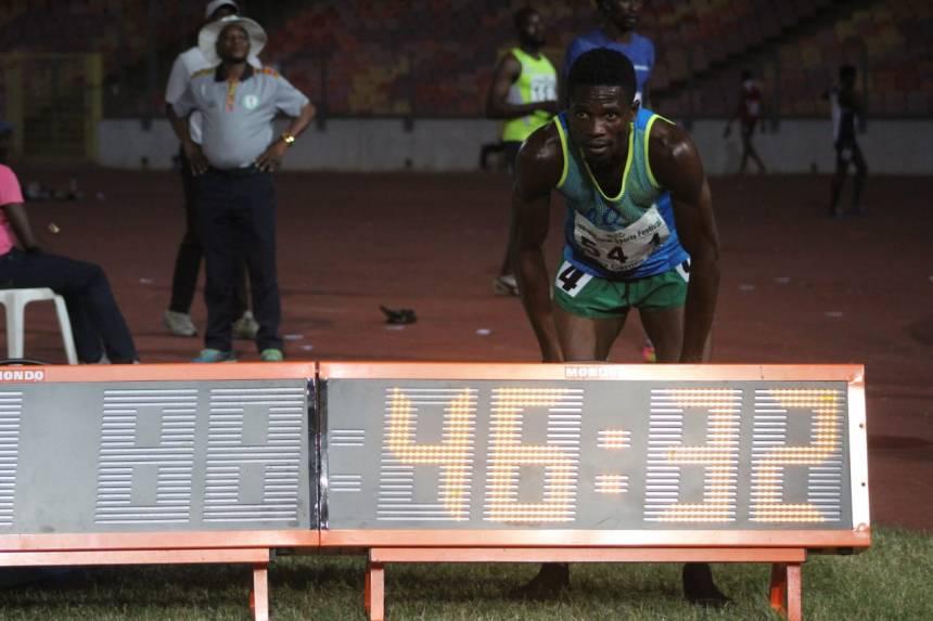 Orukpe 400m Men Winner