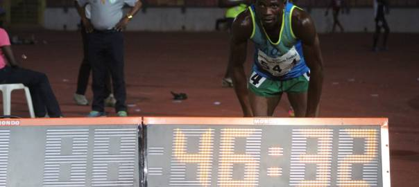 Orukpe 400m Men Winner