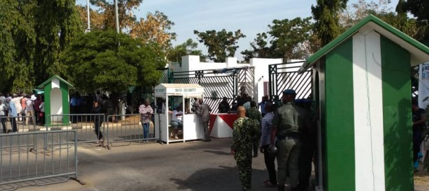 Police barricade National Assembly, prevent staff, others from entering