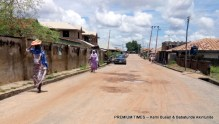 State of Agbari Gidoma Road four months after construction