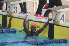 Swimming at the last National Sports Festival