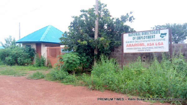 The skill acquisition centre built and locked
