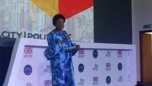 The convergence 2018. Speaker Eugenia Abu.