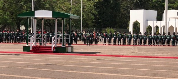 Nigeria Army special parade to mark President Buhari's 76th birthday