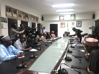 ASUP executives meeting with the federal government