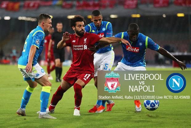 UCL: Liverpool vs Napoli [Photo: SINDOnews]