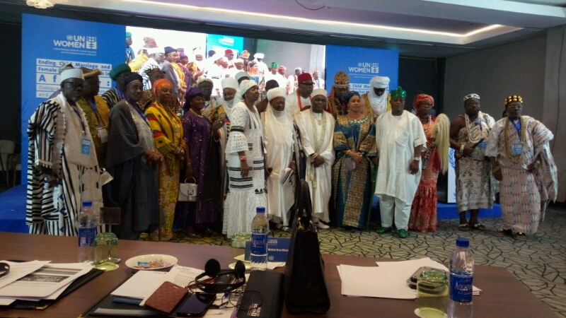 Traditional Rulers with the UN representative
