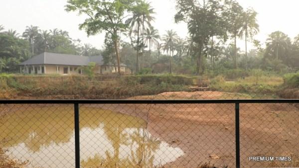 An erosion control project by Ike Ekweremadu