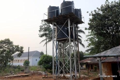 A water project at Sacred Heart Parish, Iwollo Omasi Kingdom
