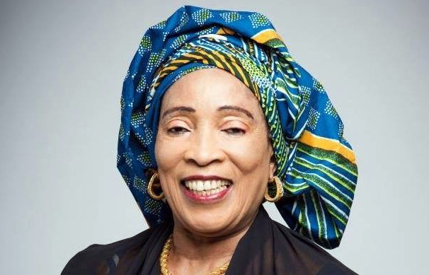 Titi Abubakar wife of the PDP Presidential candidate, Atiku Abubakar. [PHOTO CREDIT: Facebook page of Titi Abubakar]